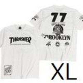 THRASHER - THRASHER スラッシャーTシャツ 半袖T 白 XL アクティブ アウトドア