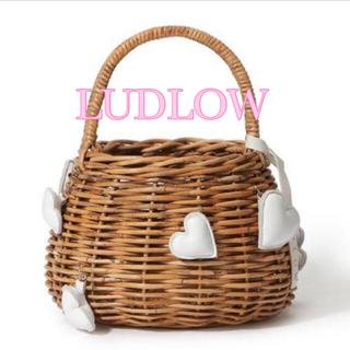 LUDLOW - 🤍【LUDLOW】 S ハートバスケット