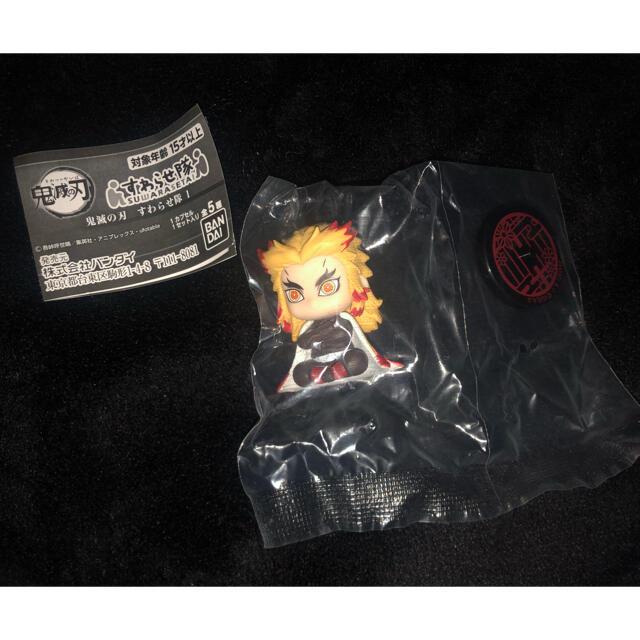 BANDAI(バンダイ)の鬼滅の刃 すわらせ隊 煉獄杏寿郎 アミューズメント エンタメ/ホビーのおもちゃ/ぬいぐるみ(キャラクターグッズ)の商品写真