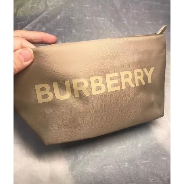 BURBERRY(バーバリー)の★期間限定セール バーバリー ポーチ 香水限定 正規ノベルティ ベージュ レディースのファッション小物(ポーチ)の商品写真