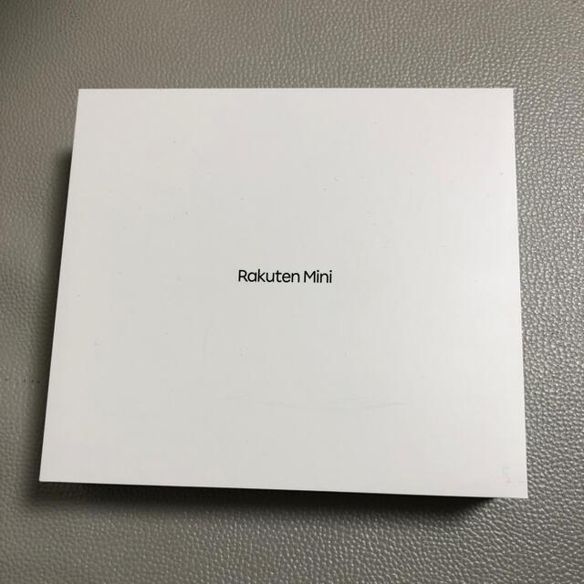 Rakuten(ラクテン)のRakuten mini レッド スマホ/家電/カメラのスマートフォン/携帯電話(スマートフォン本体)の商品写真