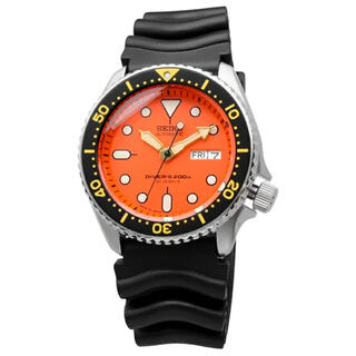 セイコー(SEIKO)の【新品】 セイコー ダイバーズ SKX011J オレンジボーイ 海外輸入品(腕時計(アナログ))