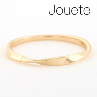 ete - 【Jouete】K10YG レイヤー ツイストリング