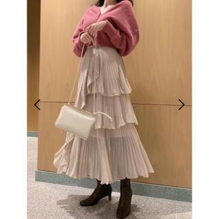 snidel - SNIDEL 今季 シアーボリュームスカート 0サイズ