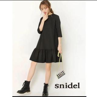 snidel - 【美品】SNIDEL フリルワンピース