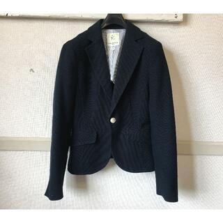 クミキョク(kumikyoku(組曲))のJ841★組曲 ジャケット 2 レディース M(9号)濃紺ネイビー クミキョク(テーラードジャケット)