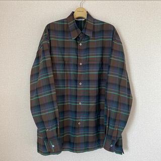 【美品】AURALEE  オーラリー メンズ シャツ