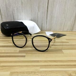 CHANEL - シャネル メガネ 黒フレーム ココマーク2130