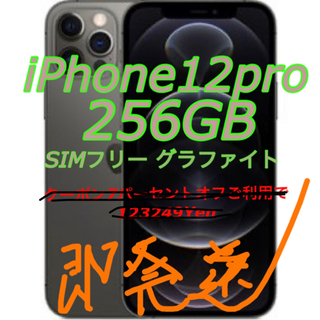 iPhone - iPhone12pro 256GB グラファイト
