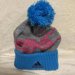 アディダス(adidas)のadidas ニットキャップ ニット帽(ニット帽/ビーニー)