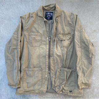 ステューシー(STUSSY)のSTUSSY AUTHENTIC zip up jacket(ミリタリージャケット)
