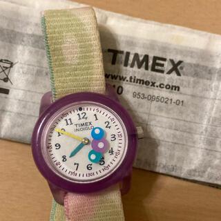 タイメックス(TIMEX)の【TIMEX】  タイメックス・キッズ腕時計 稼働品(腕時計)