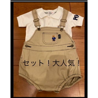 POLO RALPH LAUREN - セット売り POLO ポロシャツ サイズ90 ロンパース サイズ80