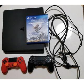 PlayStation4 - PS4 本体 ソフト コントローラー2つ付