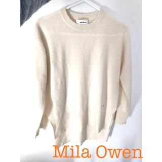 ミラオーウェン(Mila Owen)のMilaowenミラーオーウェン カシミヤニット(ニット/セーター)