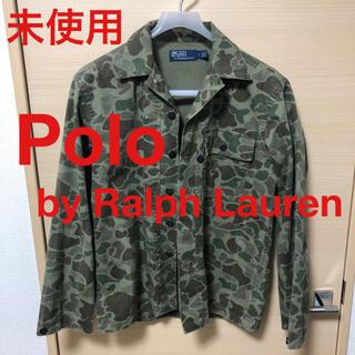 ポロラルフローレン(POLO RALPH LAUREN)のPolo Ralph Lauren ミリタリー ワークシャツ カモ ジャケット(ミリタリージャケット)