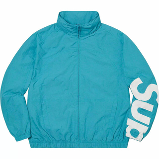 Supreme - M 水色 supreme spellout track jacket aqua