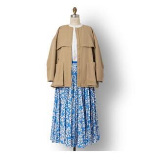 Drawer - Drawer花柄プリーツロングスカート
