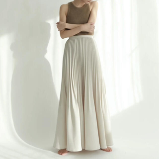 TODAYFUL - louren accordion pleats flare skirt