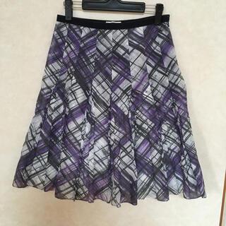 ポールカ(PAULE KA)のポールカ   スカート チェック(ひざ丈スカート)
