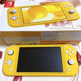 Nintendo Switch - 美品☆Nintendo Switch Lite イエロー 本体 スイッチ ライト