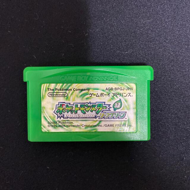 ポケットモンスター リーフグリーン エンタメ/ホビーのゲームソフト/ゲーム機本体(携帯用ゲームソフト)の商品写真