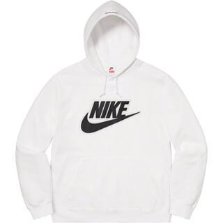 シュプリーム(Supreme)のSupreme Nike Leather Hooded Sweatshirt(パーカー)