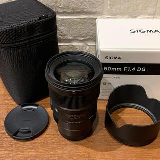 ライカ(LEICA)のSIGMA Art 50mm F1.4 DG ライカLマウント 単焦点レンズ美品(レンズ(単焦点))