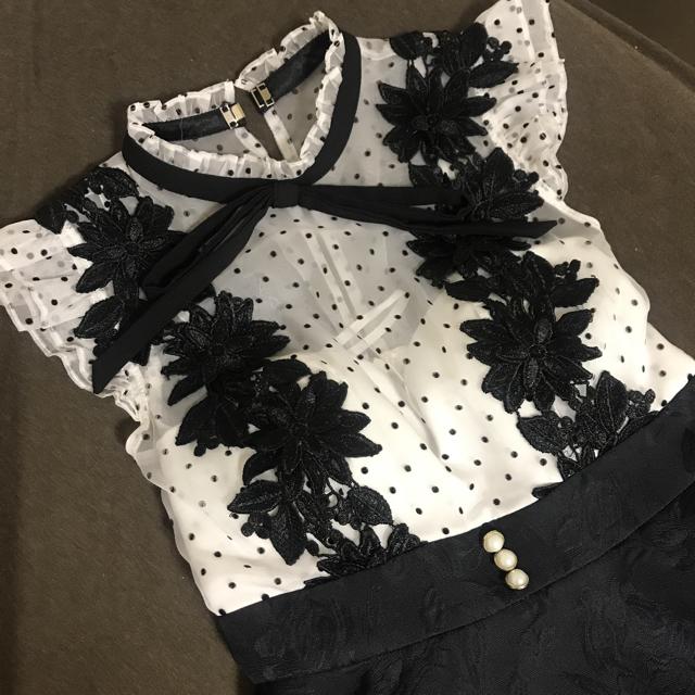 ローブドフルール 大人気 ミニドレス レディースのフォーマル/ドレス(ミニドレス)の商品写真