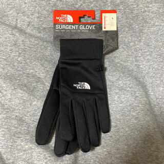 THE NORTH FACE - Lサイズ  surgent glove ザ ノースフェイス グローブ 手袋 黒色
