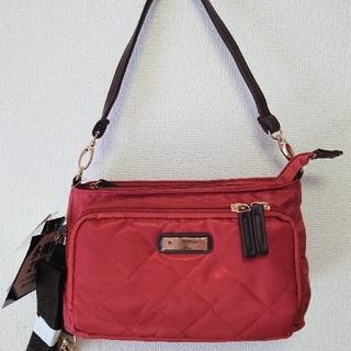 ショルダーバッグ お財布バッグ オレンジ お財布ショルダー 斜めがけバッグ