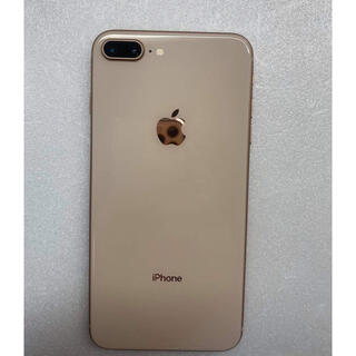 iPhone - iphone8 Plus Gold 256Gb Simフリーバッテリー100%