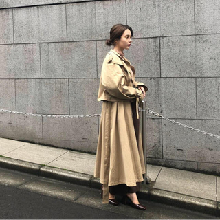 RANDEBOO volume trench coat(トレンチコート)