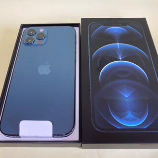 iPhone - 新品同様 SIMフリー iPhone12 pro 256GB ブルー 残債無し