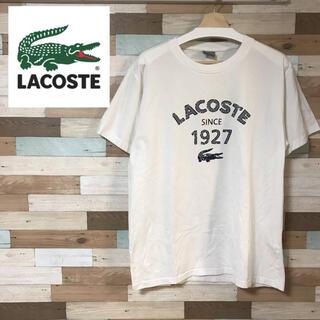 ラコステ(LACOSTE)のLACOSTE ラコステ ロゴプリント 半袖Tシャツ ビッグサイズ(Tシャツ/カットソー(半袖/袖なし))