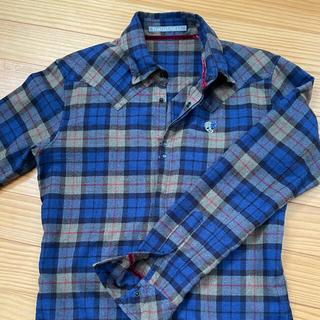 FranCisT_MOR.K.S  青チェックシャツ size 4