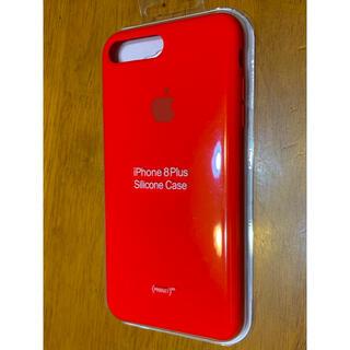 Apple - iPhone 8 Plus シリコンケース-(PRODUCT)RED 純正