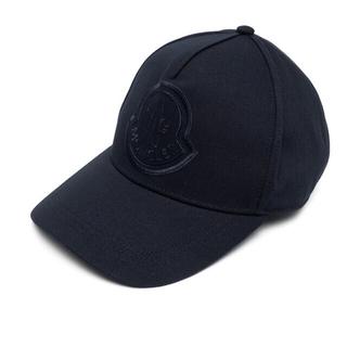 モンクレール(MONCLER)の【navy】moncler モンクレール  ベースボールキャップ(キャップ)