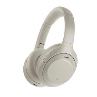 ソニー(SONY)の新品 SONY WH-1000XM4SM プラチナシルバー(ヘッドフォン/イヤフォン)