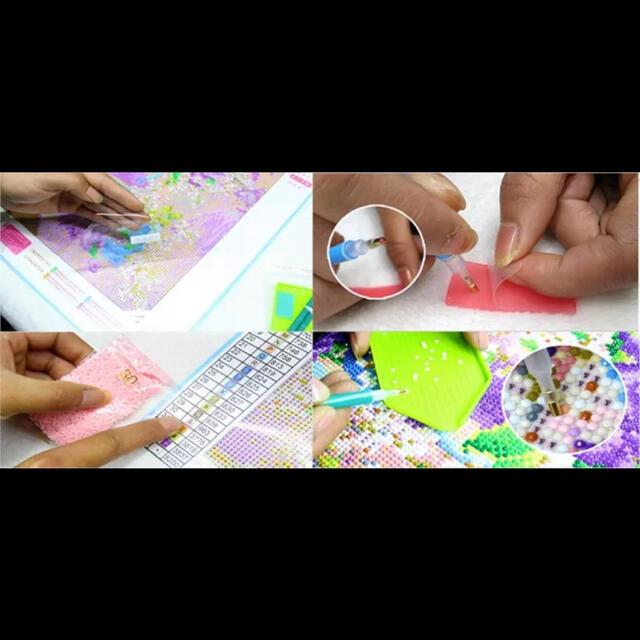 ダイヤモンドアート ダイヤモンド刺繍 手芸アート 手芸キット モザイクアート エンタメ/ホビーのアート用品(その他)の商品写真