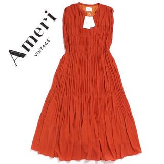Ameri VINTAGE - Ameri VINTAGE SHIRRING PLEATS NS DRESS