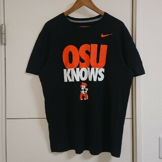 NIKE - NIKE ナイキ Tシャツ オクラホマ州立大学 カレッジ古着 デカプリント