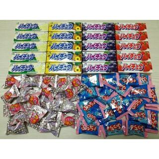 森永製菓 - ハイチュウ20本 ぷっちょ20個 あわだま20個 計60個