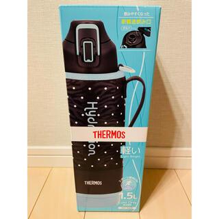THERMOS - サーモス 水筒 真空断熱スポーツボトル ドットブラック 1.5L