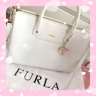 Furla - FURLA フルラ ハンドバッグ 白 ホワイト