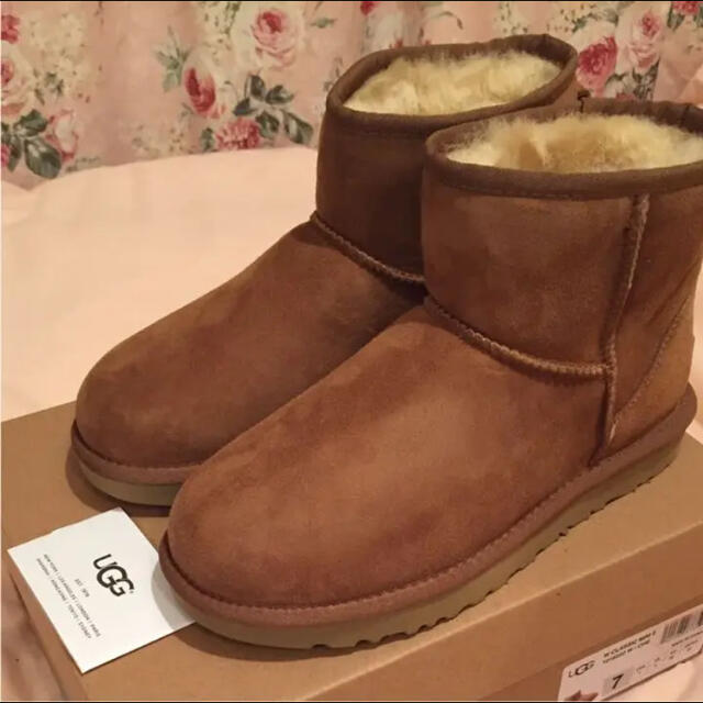UGG(アグ)のUGGブーツ CLASSIC MINI Ⅱ チェスナット US7 レディースの靴/シューズ(ブーツ)の商品写真