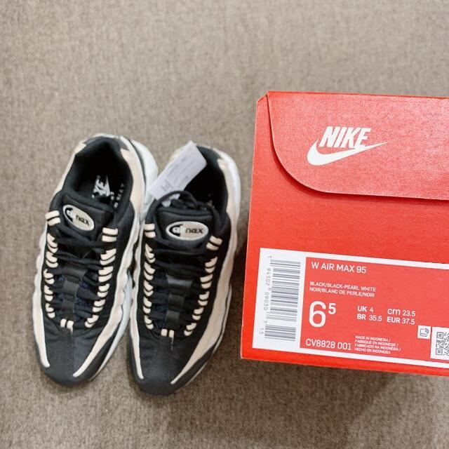 NIKE(ナイキ)の23.5cm WMNS NIKE AIR MAX 95 ブラックベージュ レディースの靴/シューズ(スニーカー)の商品写真