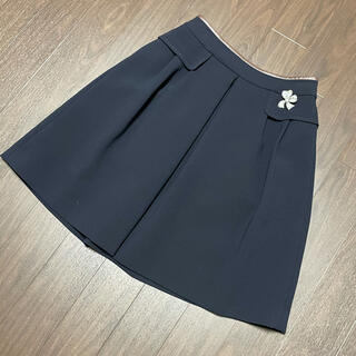 FOXEY - フォクシー  スカート  サイズ40 紺色