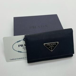 PRADA - PRADA プラダ 6連キーケース M222A ナイロン 黒 ブラック