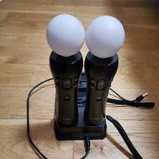 PlayStation VR - PSMOVEモーションコントローラー&充電器